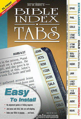 Stick on tabs for books