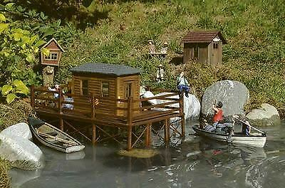 PIKO G SCALE SCALE SCALE BRADS FISHING CABIN   BN   62262 363c65