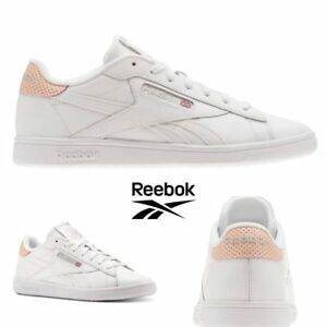 e9c6a86a669 Reebok Classic NPC UK POP Running Shoes Sneakers White Pink CM8907 ...