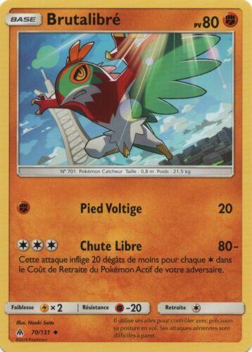 Peu commune SL6-70//131 Brutalibré X2 VF Français Pokemon