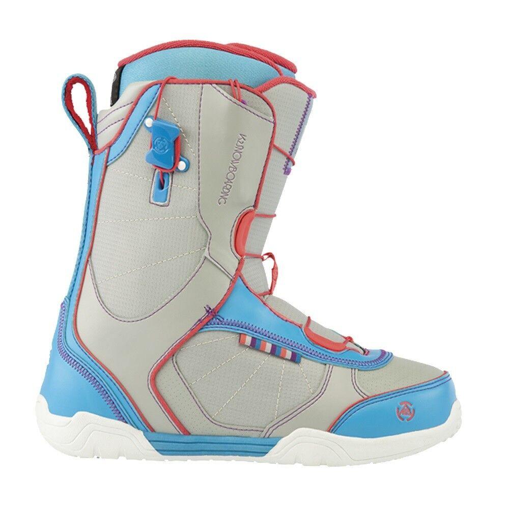 2013 K2 Scene Grey Size 8.0 Women's Snowboard Boots