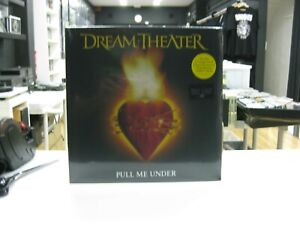 Dream-Theater-12-034-Maxi-Europe-Pull-Me-Under-2019-Translucent-Yellow-Vinyle