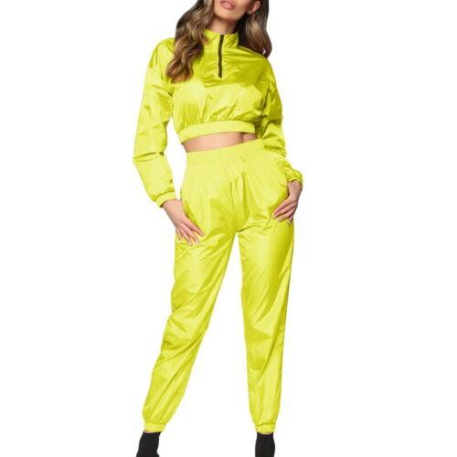 Details about  /Women Fashion Long Sleeve Tracksuit Jogging Suit Jacket Ladies Pants Sports Suit