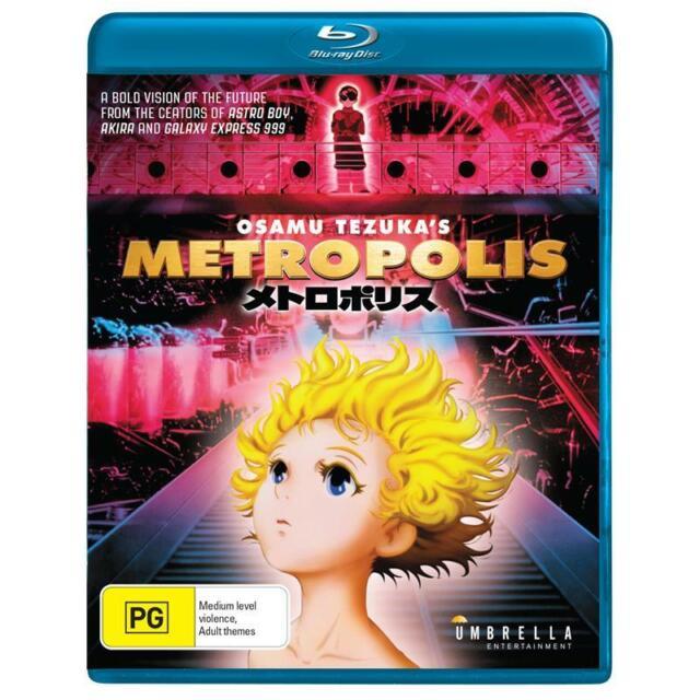 METROPOLIS - Osamu Tezuka - BLU RAY - NEW/SEALED - REGION B