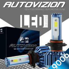 AUTOVIZION LED Headlight kit 9006 White for 2007-2007 GMC Sierra 2500 HD Classic