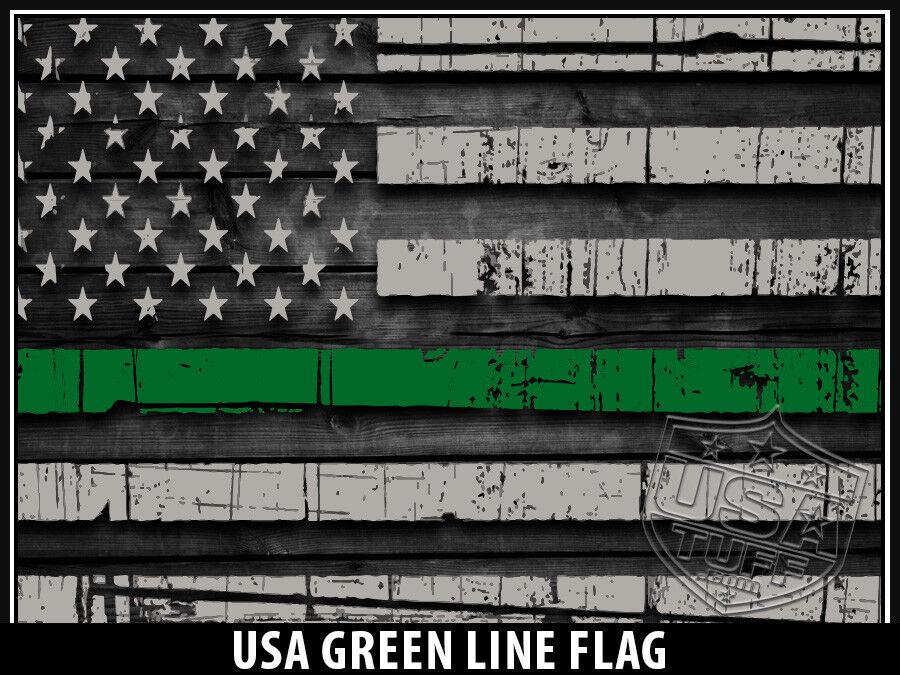 USATuff Custom Cooler Wrap fits YETI Tundra 125qt L+I USA Grün Grün USA Line Flag 8abe22