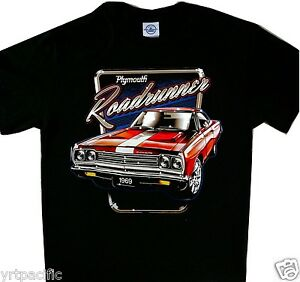b46c9c55 Image is loading Plymouth-Roadrunner-1969-Tee-Cool-t-039-shirt-