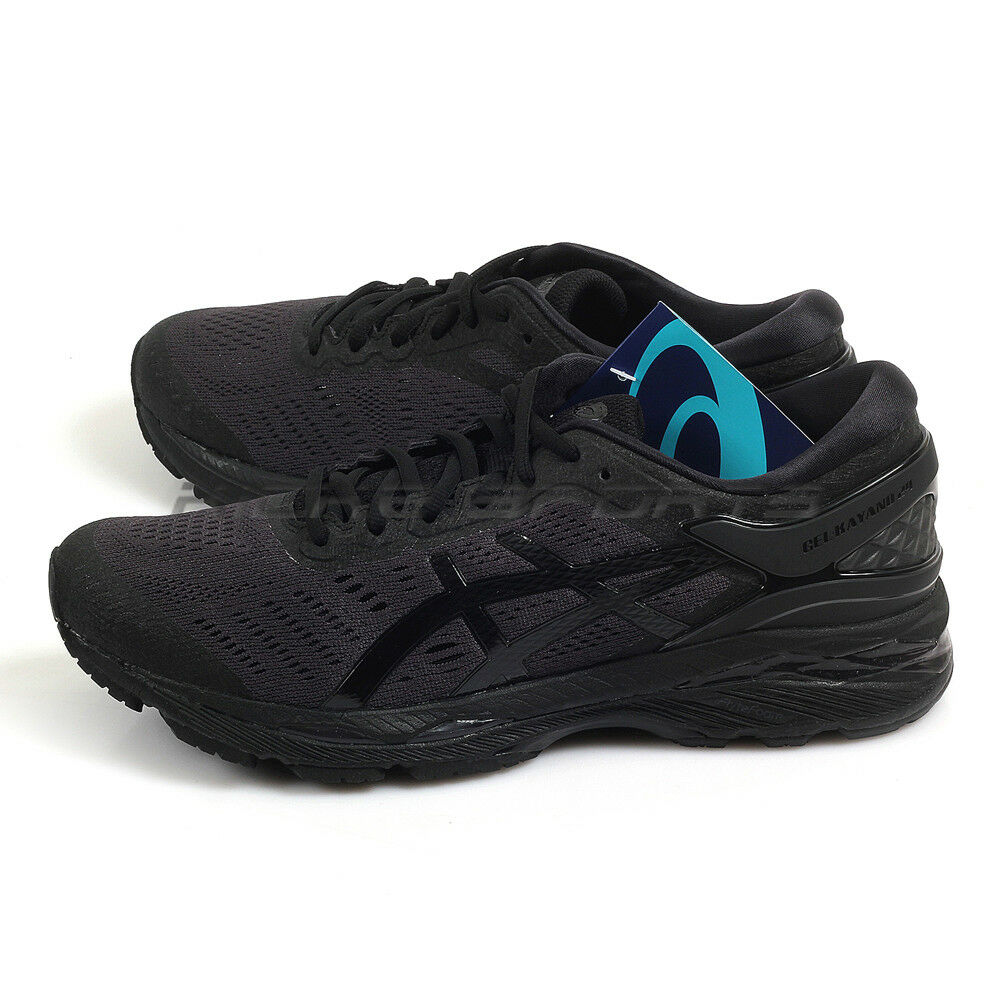 Asics GEL-Kayano 24 Black/Black/Carbon Sportstyle Running Shoes T749N-9090