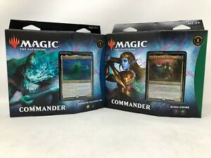 MTG-Magic-Kaldheim-KHM-Commander-Decks-Set-of-Both-Decks-Ships-Now