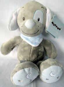 Baby S Nattou Toby The Dog Stylish Supersoft Cuddly Plush Soft Toy Bnwt Ebay