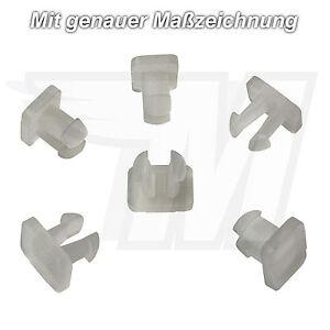 5x-porta-rivestimento-GUARNIZIONI-Clip-Plastica-Per-Mercedes-Benz-Audi-a0019882478