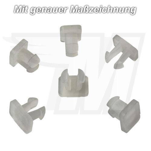 15x Tür Verkleidung Dichtungs Plastik Clip für Mercedes Benz AudiA0019882478