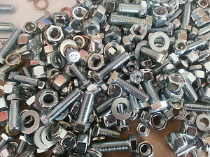 KIT-CAR-PACK-OF-NUTS-amp-BOLTS-SCREWS-WASHERS-ALL-UNF-400-APPROX