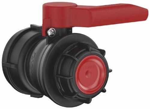 Pour IBC Pluie Réservoir d/'eau Conteneur EPDM Protège Robinet à bille dn50 KONUS