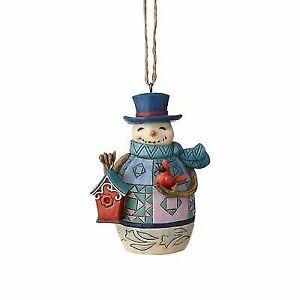 Enesco Jim Shore HWC Regal Snowman W//Broom Figurine 4055117