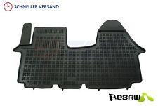 Fußmatten Auto Autoteppich für Renault Traffic 2 II 2001-2014 Velours 1tlg