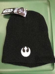 Star Wars Boys Rebel Alliance Winter Beanie Hat /& Gloves Set