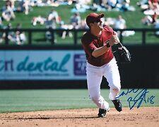 Willie Bloomquist Autographed 8x10 Photo AZ Diamondbacks (1)