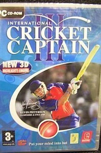 CRICKET CAPTAIN III 3 ( PC GAME ) NEW SEALED 2007