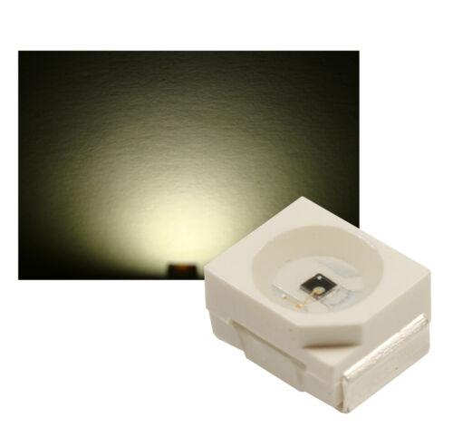 SMD LED PLCC 2 Sop 2 3528 blanco cálido ultrahell 100 St