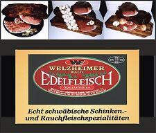 1,4 KG Edelfleisch Probierpaket 7 Sorten Schinken