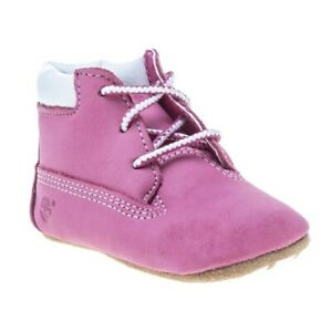 Neu-KINDER-TIMBERLAND-ROSA-CRIB-BOOTIE-WITH-HAT-NUBUKLEDER-STIEFEL-CHUKKA-BOOTS