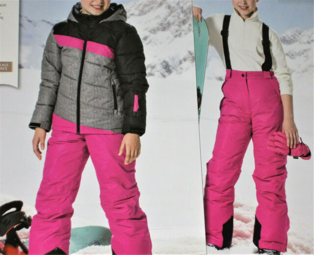 offizielle Fotos 98b11 86300 2tlg. Mädchen SKIANZUG Snowboardanzug Jacke+Hose Gr.116 128 140 152 164 NEU