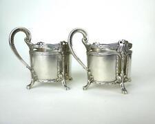 Zwei seltene Jugendstil Teeglashalter WMF um 1900
