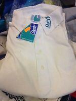 Kookabbara Cricket Shirts In Xl/or Xxl Short Sleeve At £7 Cotton In Cream