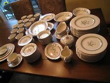 Old Ivory Syracuse China  ?Coralbel?  OPCO silver trim made in America Excellent