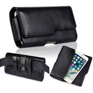 huge selection of ce8d2 5f9a9 Details about Genuine Leather Carry Case For 5.5