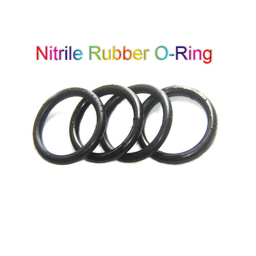 Nitrile Rubber O-Ring CS 3.5mm NBR Oring Seal Sealing OD 12-370mm Oil Resistant