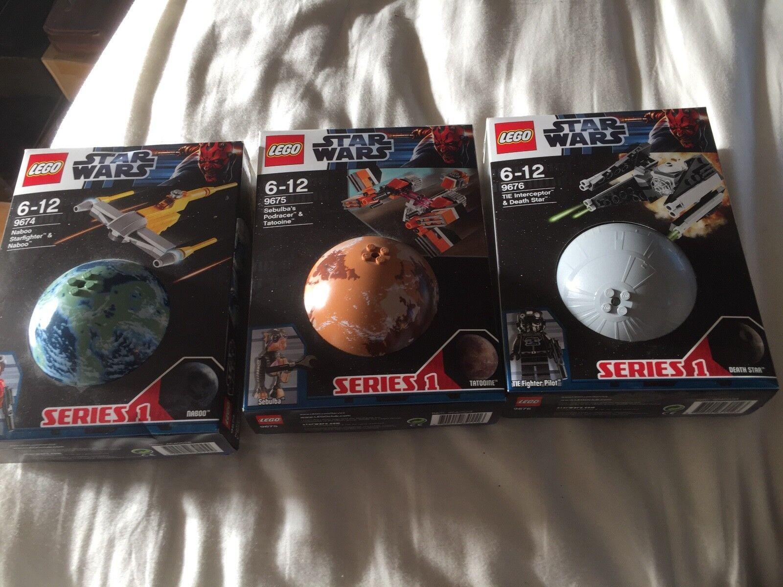 LEGO estrella guerras 9674 9675 9676  SERIE 1 NUOVO SIGILLATO Scatole Set Completo Completo  shopping online e negozio di moda