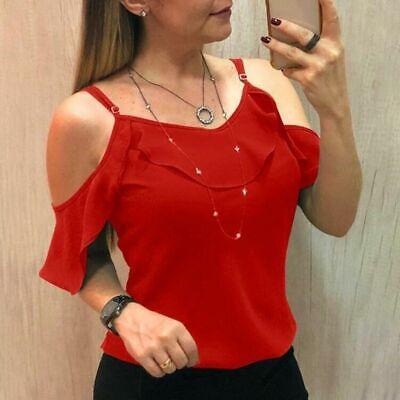 Camisa De Mujer Blusa Moda Tops Verano Manga Corta Blusas De Encaje Nueva ropa
