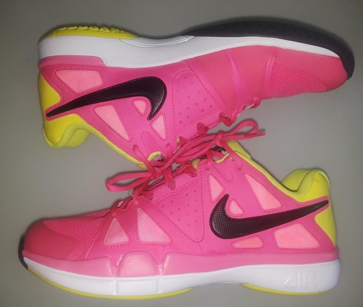 Nike zoom vapore vantaggio scarpe da tennis in rosa di dimensioni 11,5 pre -