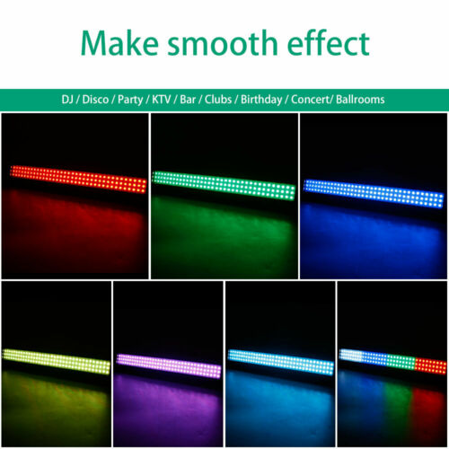 2STK RGB Bühnenbeleuchtung 108 LEDs Bar Wall Washer Licht DMX Concert Decor Club