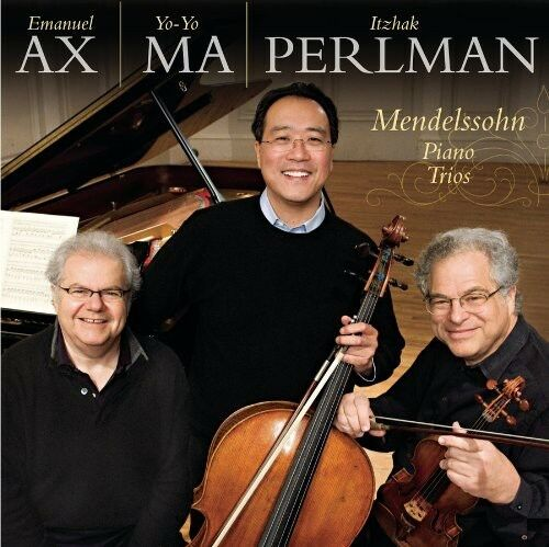 Itzhak Perlman, John - Mendelssohn: Piano Trios Op 49 Op 66 [New CD]