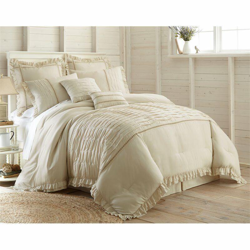 8 Piece Antonella Comforter Set Cal King