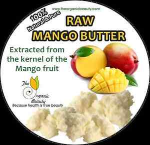 16-OZ-1lb-100-Pure-Raw-Mango-Butter-completely-Refined-amp-Natural-body-butter