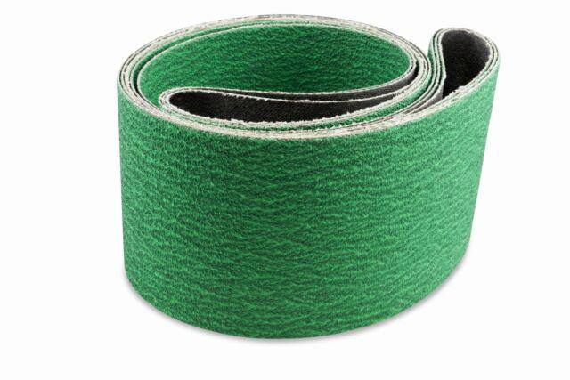 """1//2/"""" x 18/"""" Premium Zirconia Sanding Belts 10 Pack 120 Grit"""