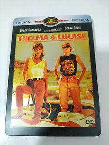 THELMA-amp-LOUISE-SUSAN-SARANDON-GEENA-DAVIS-DVD-SPANISH-EDITION-STEELBOOK-AM