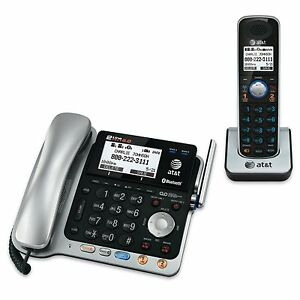 AT-amp-T-TL86109-DECT-6-0-2-Line-Expandable-Corded-Cordless-Phone-with-Bluetooth