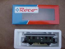 Roco -Classic  Personen-Waggon  mit org. Karton  -alt  in HO
