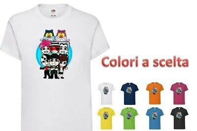t-shirt Maglietta Bambino TEAM WGF Lyon Youtuber vers.3 - WhenGamersFail - WGF -   eBay