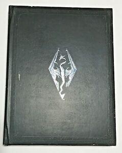 Sambuco-PERGAMENE-Skyrim-Collector-039-s-Edition-in-pelle-stile-copertina-rigida-art-book