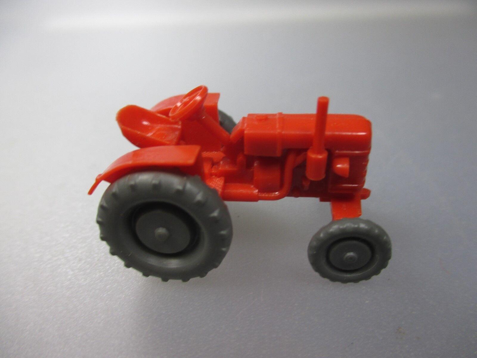Wiking  Fahr -Schlepper, Orangerot  Topzustand  (SSK68)