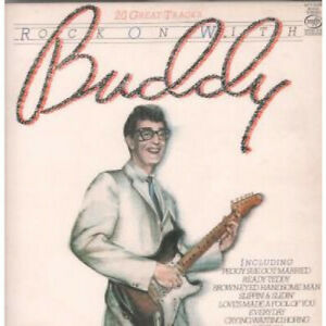 BUDDY-HOLLY-AND-THE-CRICKETS-Rock-On-With-Buddy-LP-VINYL-UK-Mfp-20-Track