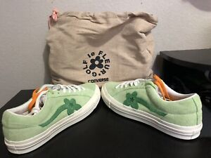 0b6667862fb5 CONVERSE ONE STAR GOLF Le FLEUR JADE LIME GREEN SIZE 10 With Bag