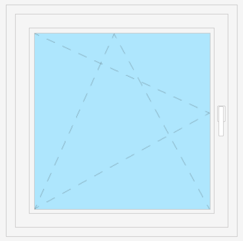 1 Flügel Fenster Avantgarde 9000  5 5 5 - Kammer Profil e2bdc9