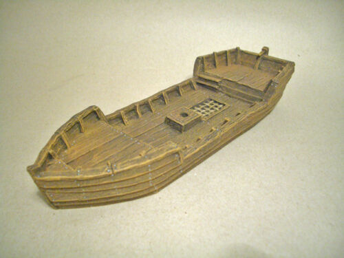 Shore Sailboat Unpainted Resin Thomarillion Dwarven Forge D/&D